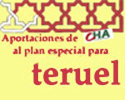 Plan Teruel: interioridades y exterioridades